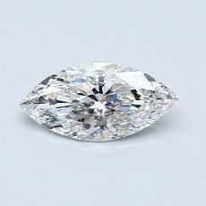 0.51-Carat Marquise Diamond Very Good F SI2