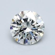 1,20-Carat Round Diamond Ideal I SI1