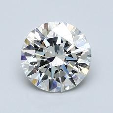1.20-Carat Round Diamond Ideal I SI1