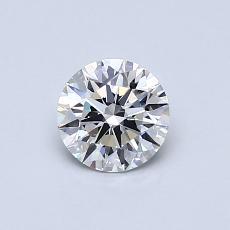 推荐宝石 3:0.57克拉圆形切割钻石