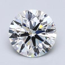 Recommended Stone #1: 1.77-Carat Round Cut Diamond