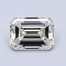 Piedra recomendada 3: Diamante de talla esmeralda de 1.20 quilates