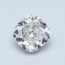 1.01 Carat 墊形 Diamond 非常好 H VVS1