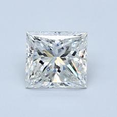 推薦鑽石 #1: 0.90  克拉公主方形鑽石