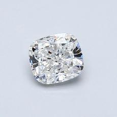 0.52-Carat Cushion Diamond Very Good F VS2