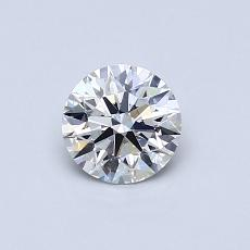 Recommended Stone #4: 0,53-Carat Round Cut Diamond