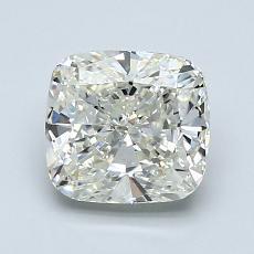 Pierre recommandée n°3: Diamant Taille coussin de 1,70carat