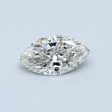 Recommended Stone #1: 0,40-Carat Marquise Cut Diamond