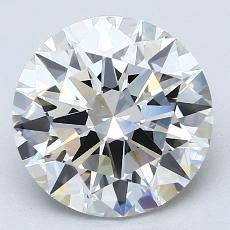 Recommended Stone #4: 3.14-Carat Round Cut Diamond