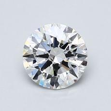 1.01-Carat Round Diamond Ideal E SI1