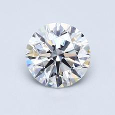 0,80 Carat Rond Diamond Idéale D VS2