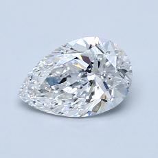 Recommended Stone #3: 0.90-Carat Pear Shaped