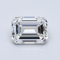 Recommended Stone #1: 1.02-Carat Emerald Cut Diamond