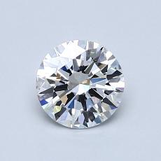 Recommended Stone #2: 0,71-Carat Round Cut