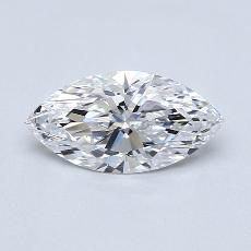Recommended Stone #3: 1.10-Carat Marquise Cut Diamond