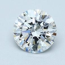 1,30 Carat Rond Diamond Idéale F VS2