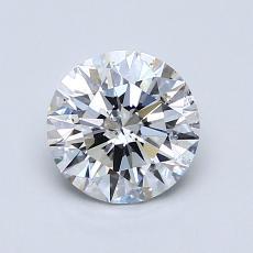 1.00 Carat 圓形 Diamond 理想 E SI2
