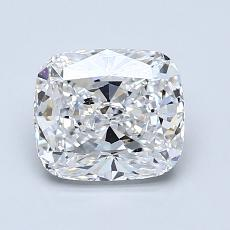 Pierre recommandée n°2: Diamant Taille coussin de 1,51carat