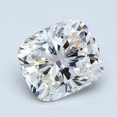 Pierre recommandée n°3: Diamant Taille coussin de 2,05carat