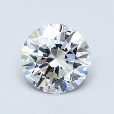 1.01 Carat 圆形 Diamond 理想 E VS2
