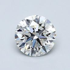 1.00 Carat 圆形 Diamond 非常好 G SI1