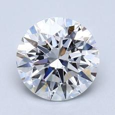1.73-Carat Round Diamond Ideal D VS1
