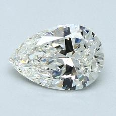Recommended Stone #1: 1.02-Carat Pear Cut Diamond