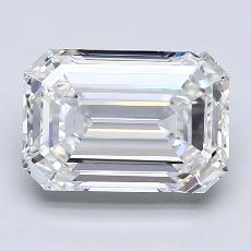 Recommended Stone #1: 2,83-Carat Emerald Cut Diamond
