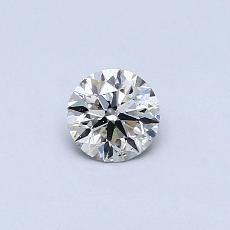 Recommended Stone #2: 0.33-Carat Round Cut Diamond