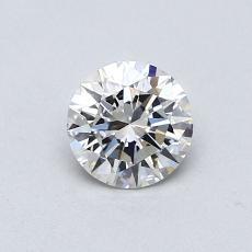 0.52 Carat 圆形 Diamond 理想 G VVS1