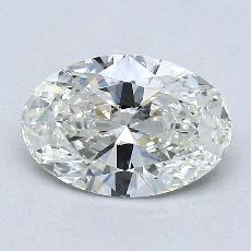 1,21-Carat Oval Diamond Very Good I VVS2