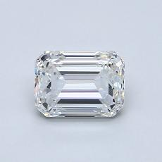 Recommended Stone #3: 0.81-Carat Emerald Cut Diamond