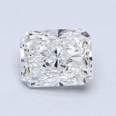 1.01-Carat Radiant Diamond Very Good F VS1