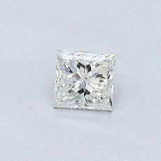 オススメの石No.1:0.30カラットプリンセスカットダイヤモンド