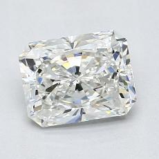 1,31-Carat Radiant Diamond Very Good H VS2