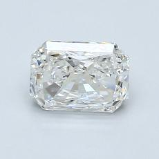 1.00-Carat Radiant Diamond Very Good H VS2
