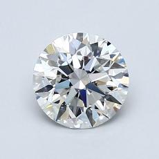 1.01-Carat Round Diamond Ideal F VS1