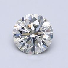 1.03-Carat Round Diamond Ideal K SI2
