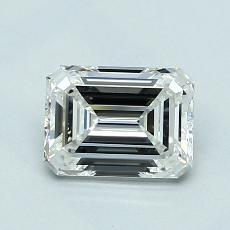 1.00 Carat Esmeralda Diamond Muy buena G VVS2