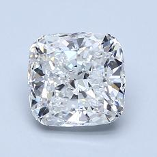 1.54-Carat Cushion Diamond Very Good F VVS2
