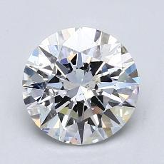 1.51-Carat Round Diamond Ideal D SI1