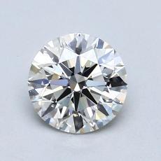 0.80 Carat 圆形 Diamond 理想 I VS1