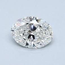Recommended Stone #4: 0.81-Carat Oval Cut Diamond