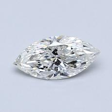 Recommended Stone #3: 0.52-Carat Marquise Cut Diamond