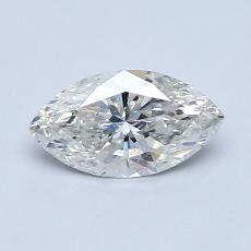 Piedra recomendada 1: con diamante Talla marquesa de 0.71 quilates