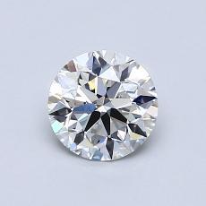 0.75 Carat 圓形 Diamond 理想 F VS1