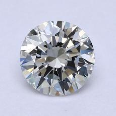 1.23 Carat 圆形 Diamond 理想 H IF
