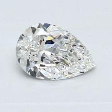0.61 Carat 梨形 Diamond 非常好 G SI1