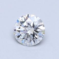 Recommended Stone #1: 0,71-Carat Round Cut Diamond