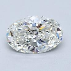 Recommended Stone #1: 1.80-Carat Oval Cut Diamond